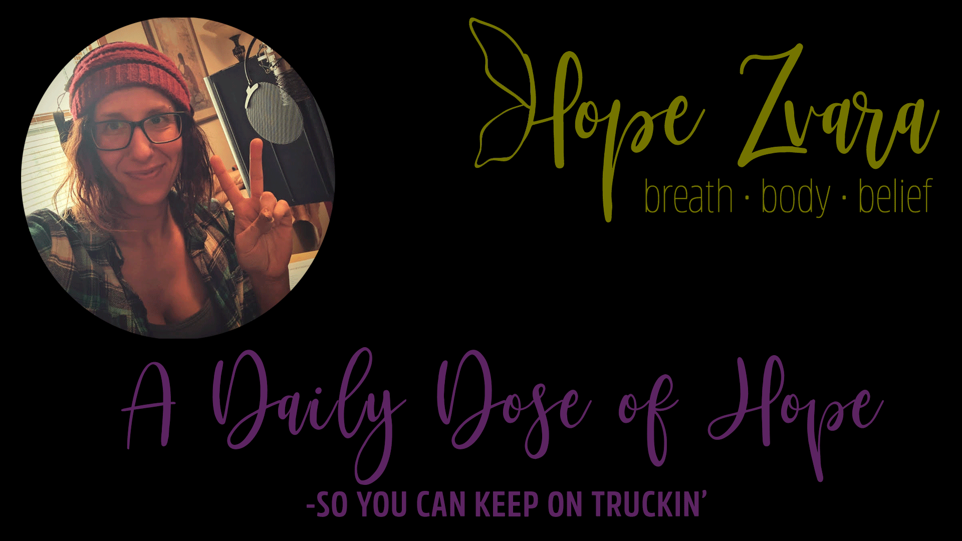 A Daily Dose Of Hope Show Episode 1: Fighting Holiday Stress | Chrome and Steel Radio