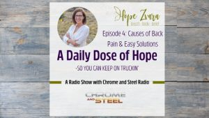 A Daily Dose of Hope Episode 4: Back Pain