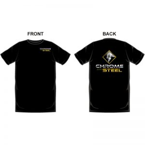 Chrome and Steel Radio Tshirt
