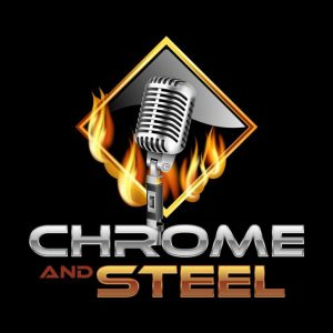 chrome and steel radio logo
