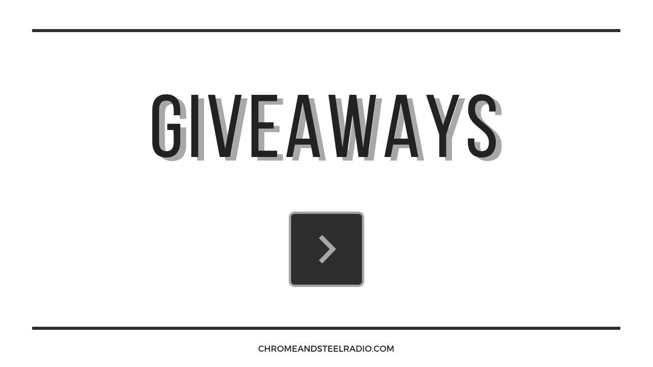 Chrome and Steel Giveaway