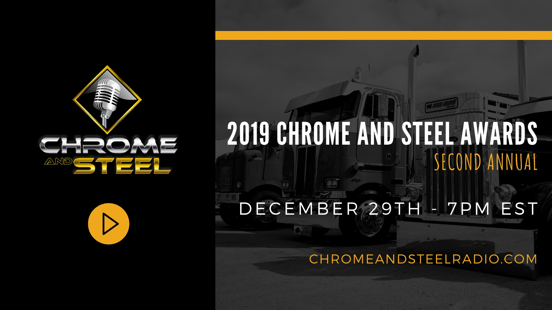 2019 Chrome and Steel Awards